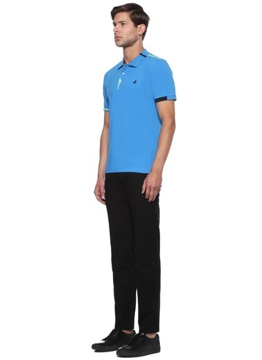 Beymen Club Polo Yaka Tişört Mavi